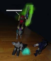 Megatron vs HHH 4