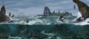 The Skull Island by pumpkindante