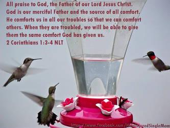 2 Corinthians 1:3-4 NLT by neice1176