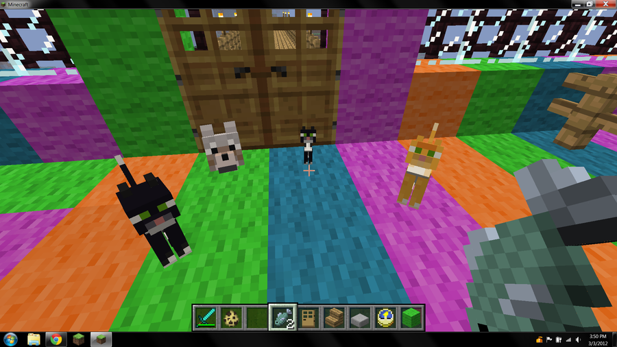 how to make dogs mate in minecraft