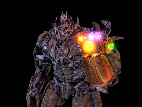 Infinity Gauntlet render test