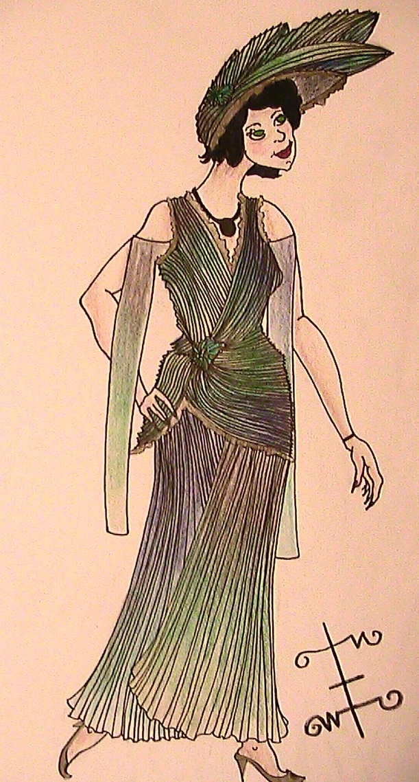 1920's Costume Design by phantomonex