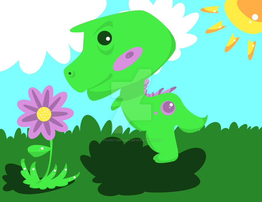 Howie the Dino by phantomonex
