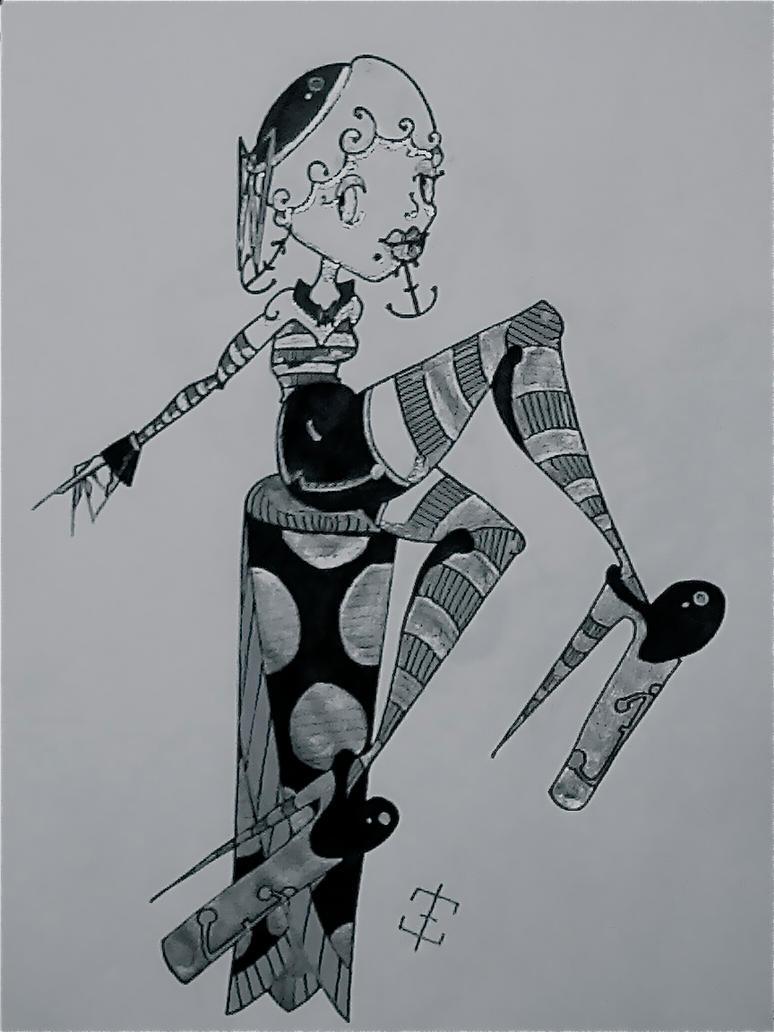 Cartoon Sailor by phantomonex
