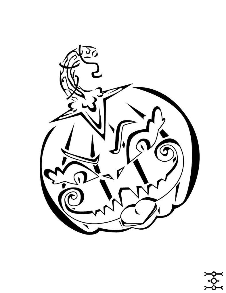 Halloween Pumpkin by phantomonex