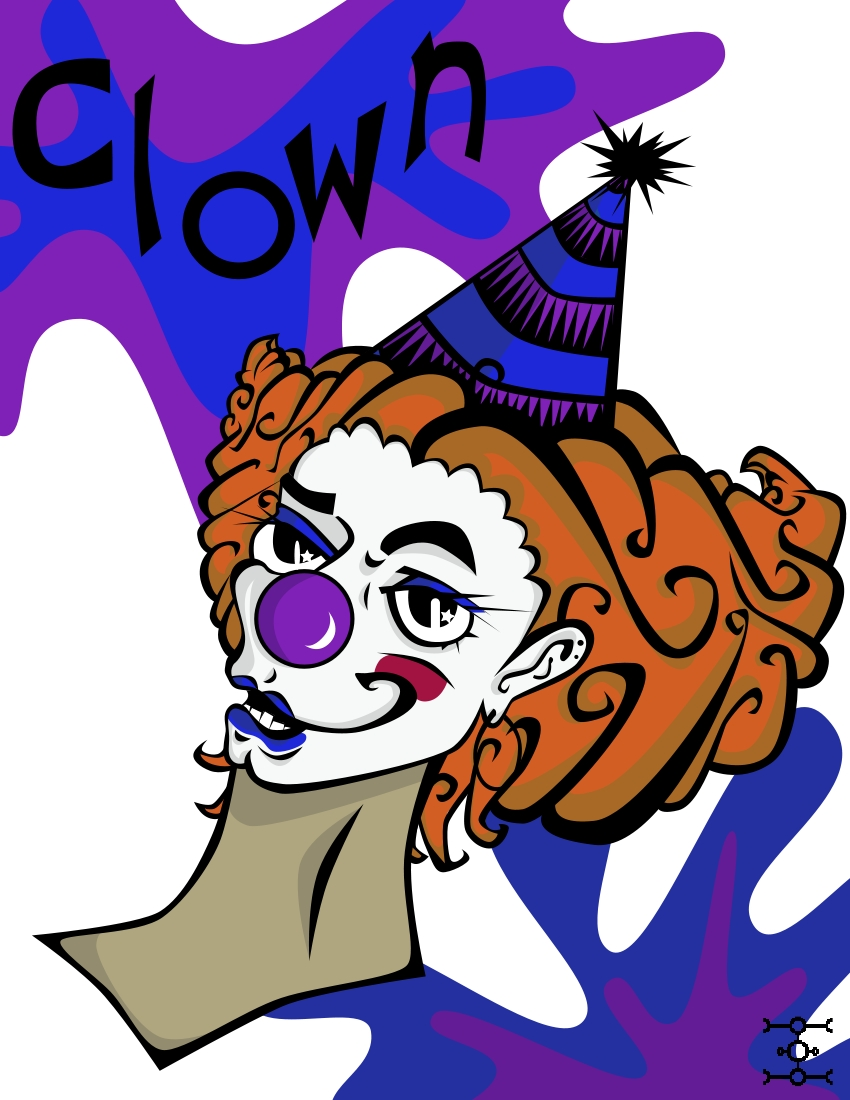 Clown by phantomonex