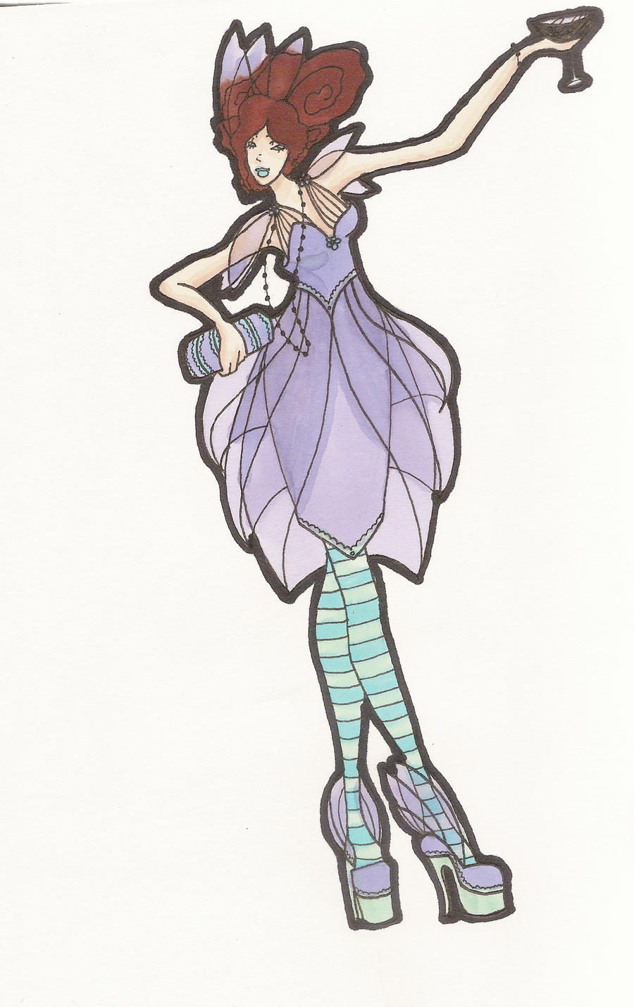 Party Dress Design by phantomonex