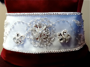 Beaded Wedding Belt:6 by phantomonex