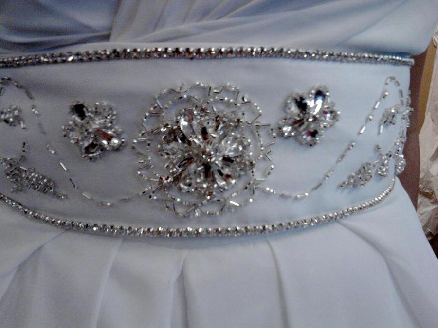 Beaded Wedding Belt:New 1 by phantomonex