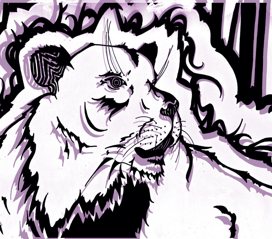 Lion by phantomonex