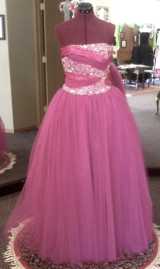 Beaded Prom Dress 1 by phantomonex