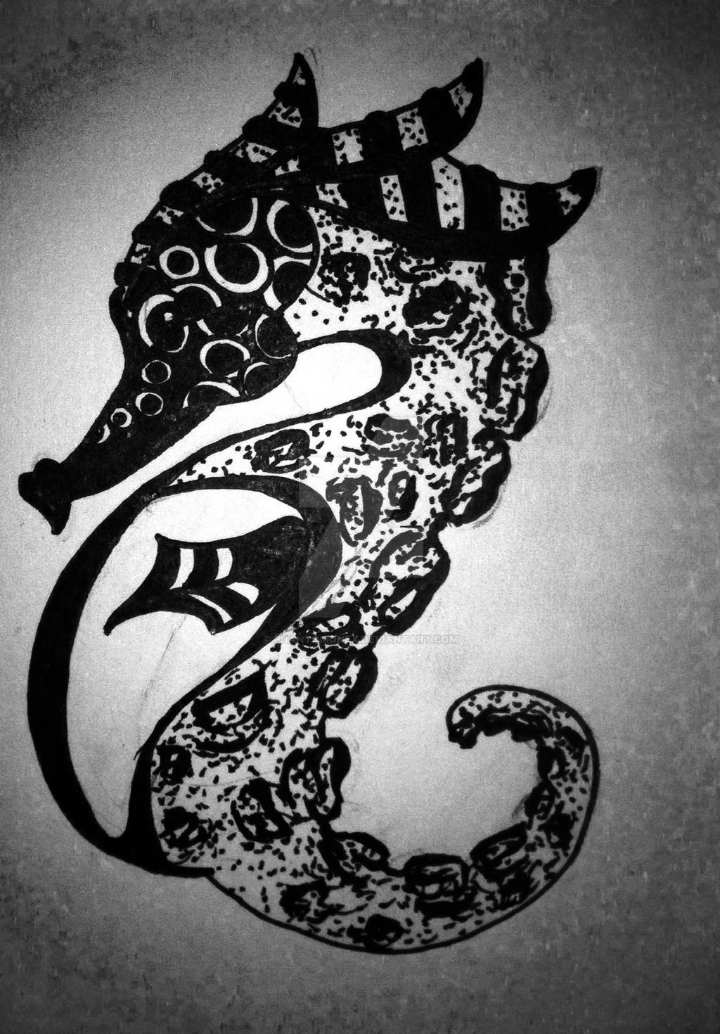 Seahorse by phantomonex
