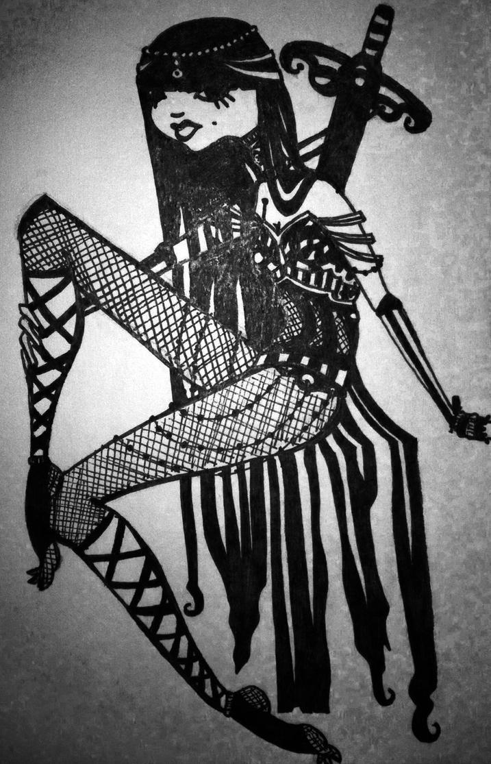 Warrior by phantomonex