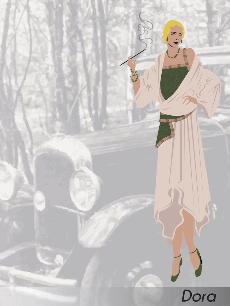 Costume Design: Doll Face: Dora by phantomonex