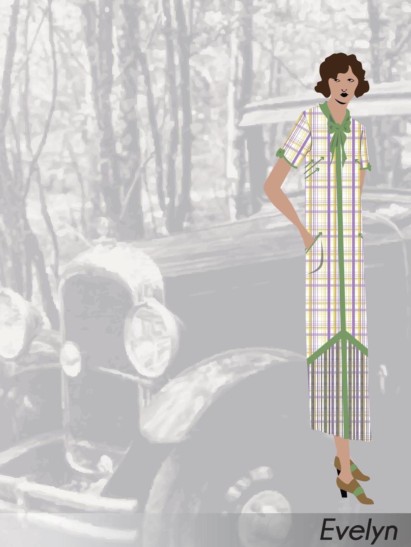 Costume Design: Doll Face: Evelyn by phantomonex