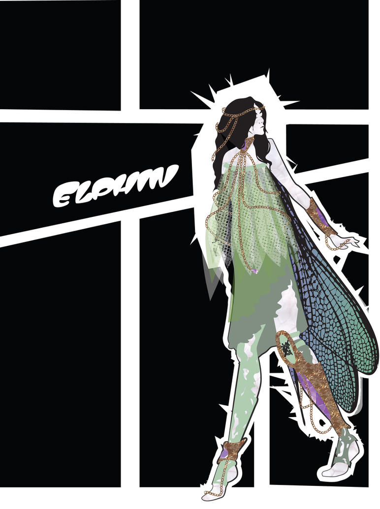 Costume Design: Soon I Will Be Invincible: Elphin2 by phantomonex