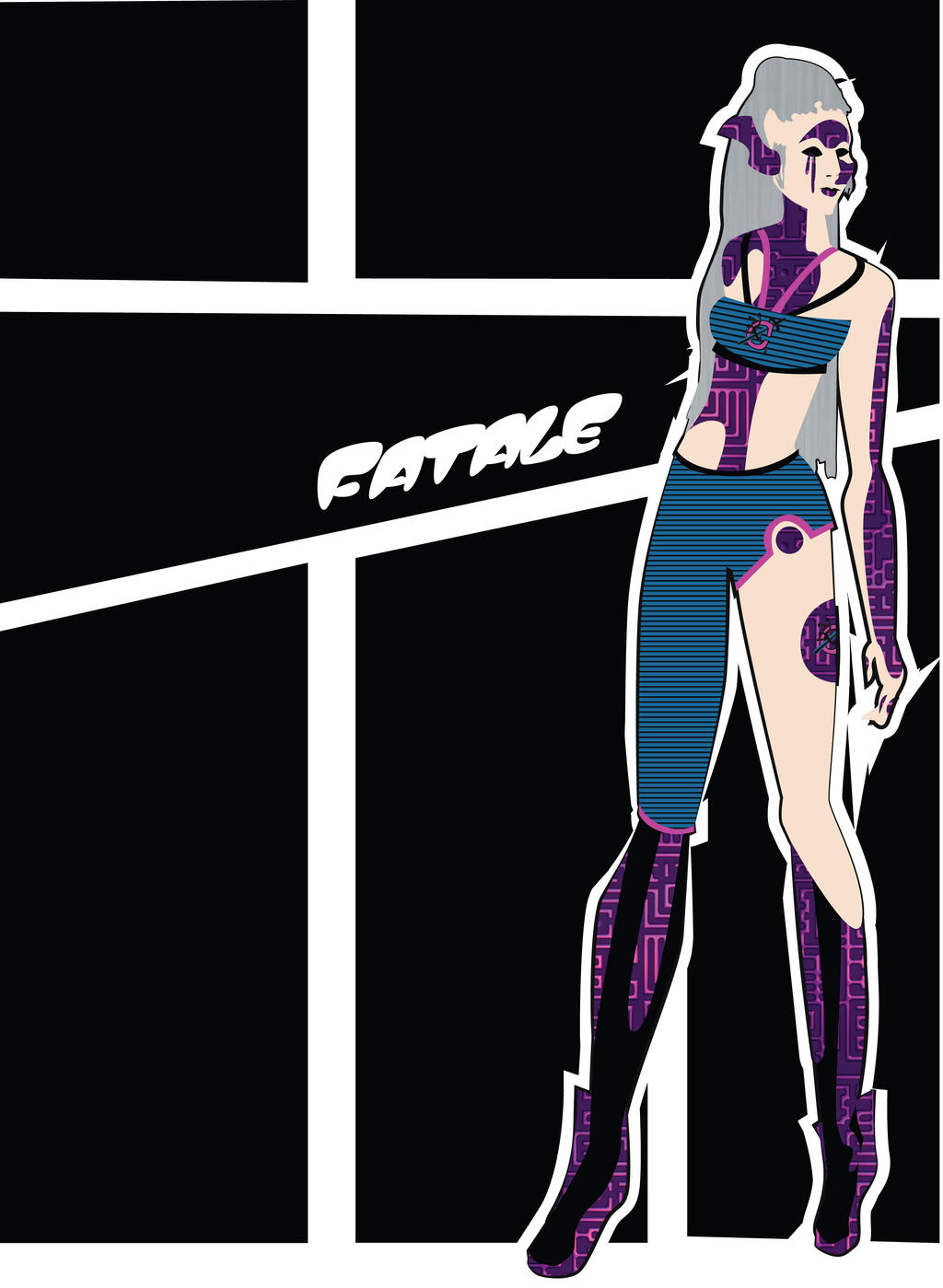 Costume Design: Soon I Will Be Invincible: Fatale2 by phantomonex