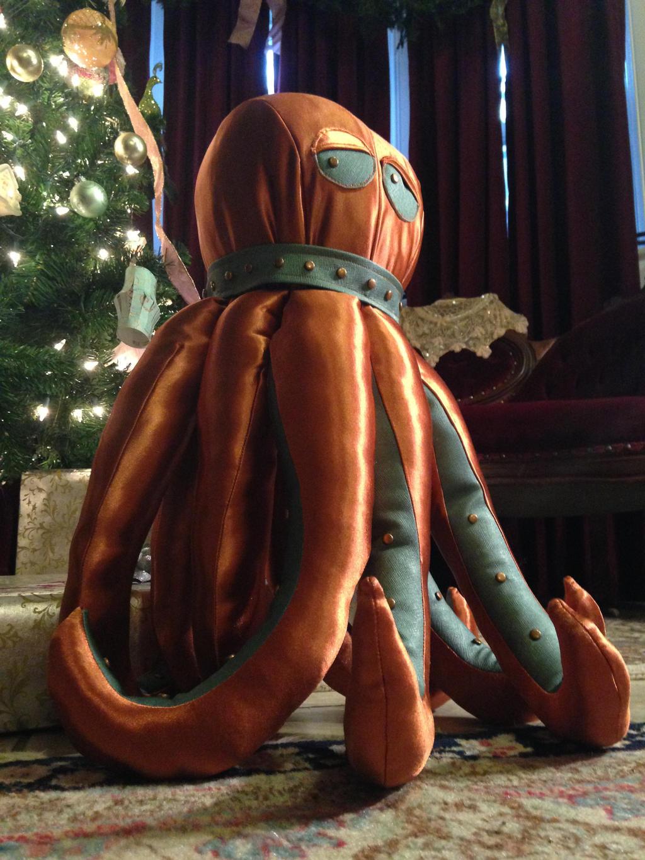 Hector the Octopus: 4 by phantomonex