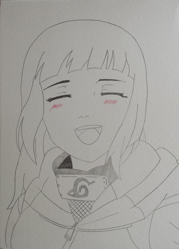 Hinata Hyuga from Naruto by revvy-blacklagoon