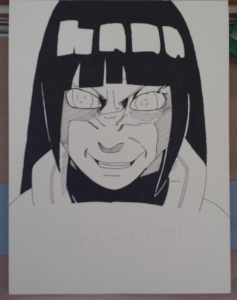 Hinata from Naruto by revvy-blacklagoon