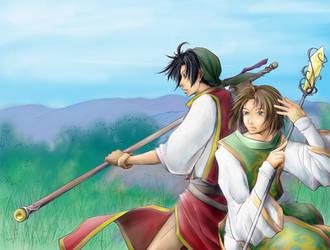 :suiko: battle by sarezel