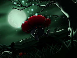 :Shadow Bloom: Vileplume by endless-whispers