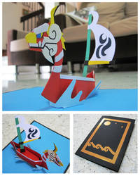 Pop-up Wind Waker by endless-whispers