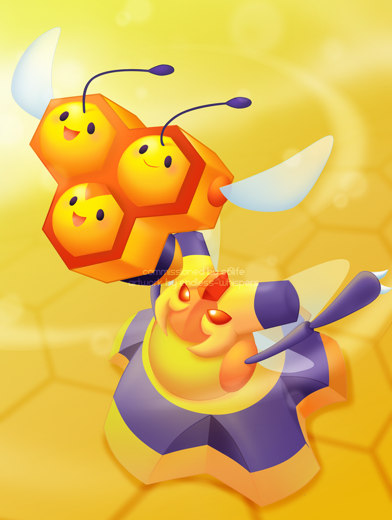 Flight of the Honeybee by endless-whispers