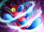 :Eerie Upgrade: Porygon-Z by endless-whispers