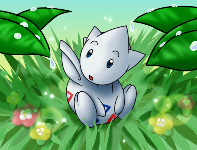 :Morning, morning: Togetic by endless-whispers