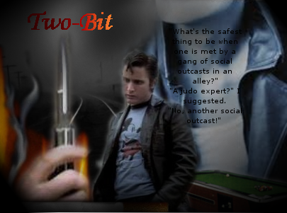 the gallery for gt the outsiders two bit switchblade