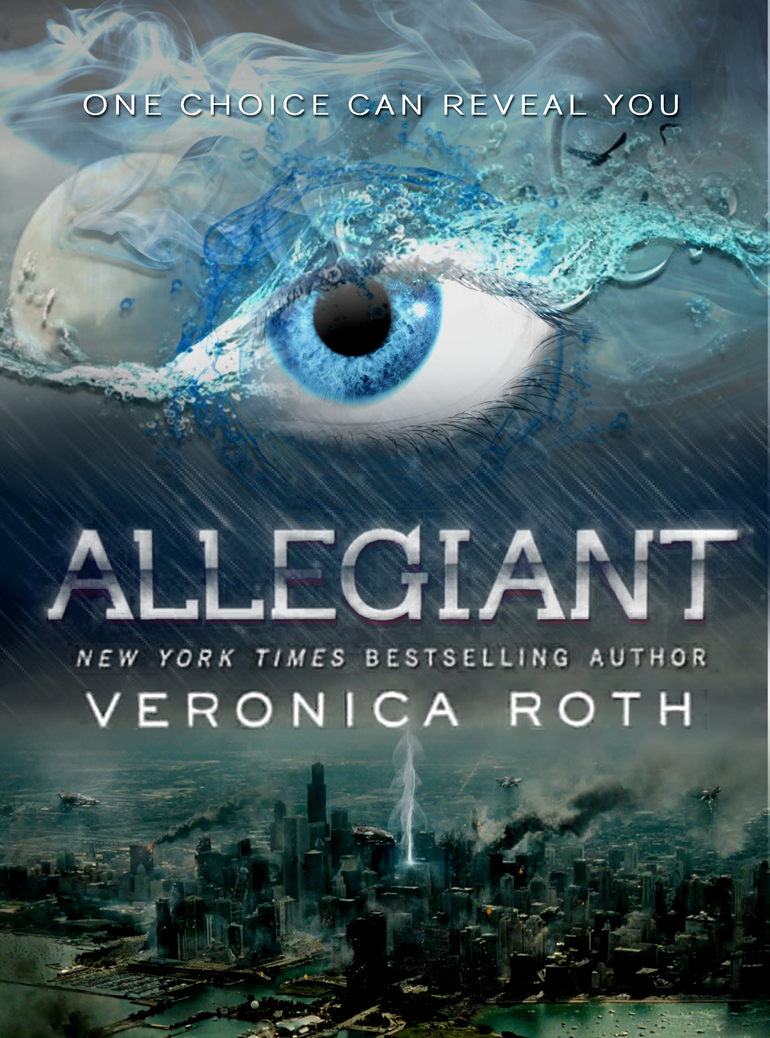 Divergent Book Cover Drawing : Allegiant by veronica roth fanmade cover