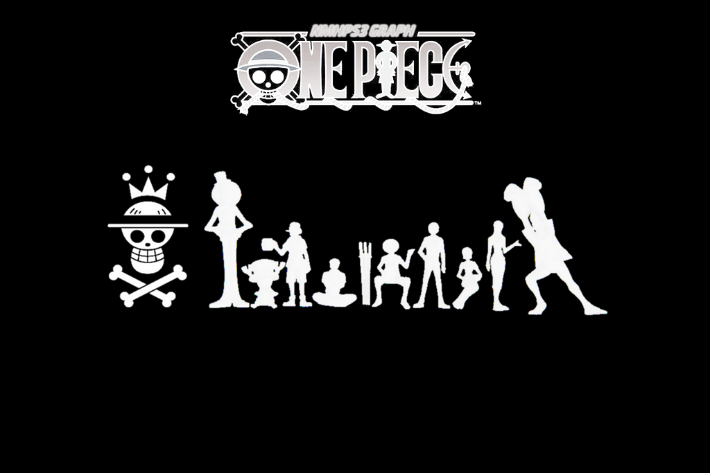 One Piece - Wallpaper Black and White by NMHps3 on DeviantArt