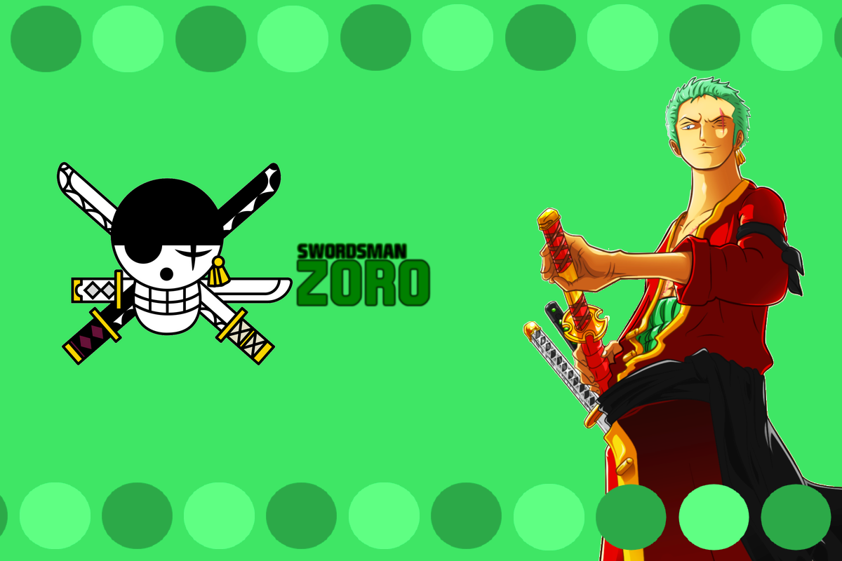 One Piece Zoro New World Drawing For Kids