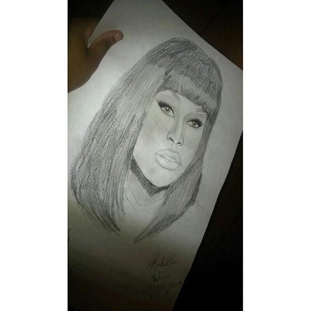 Nicki Minaj by Chellemybell90