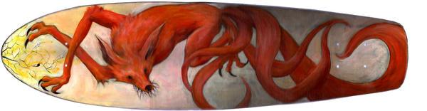 my fox board by dragonalth