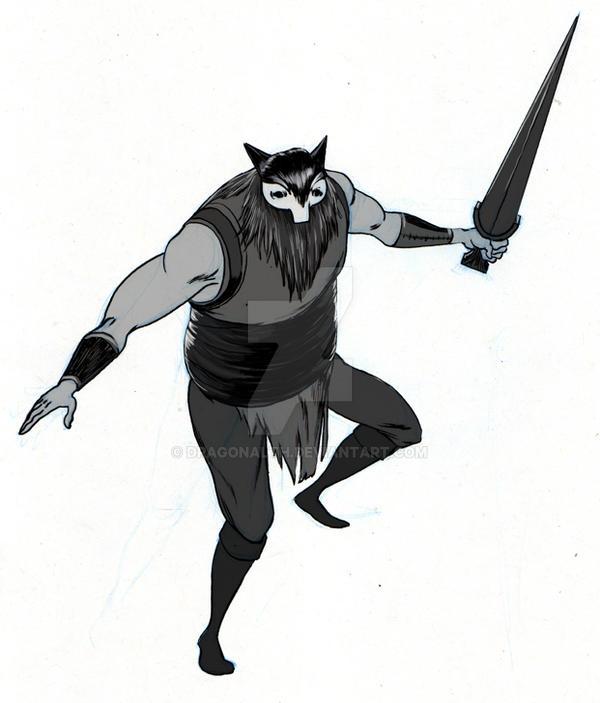untitled warrior by dragonalth