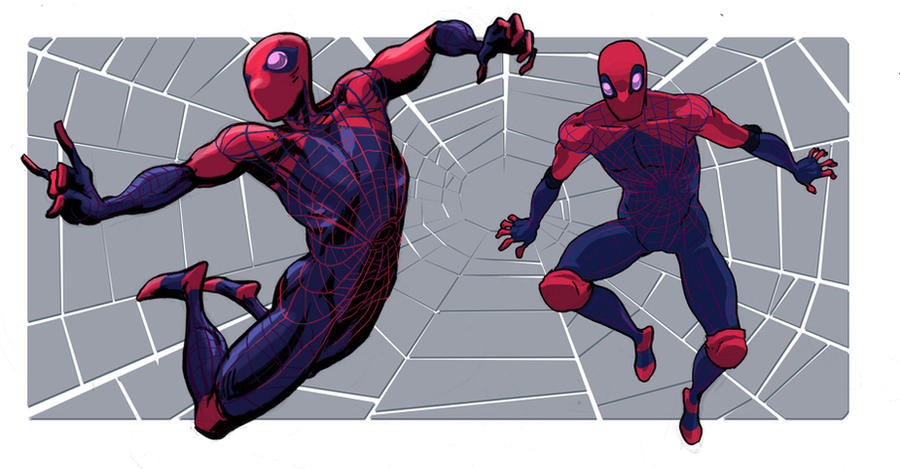 spidey design 1 by dragonalth