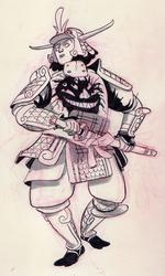 Demon-samurai-doodle