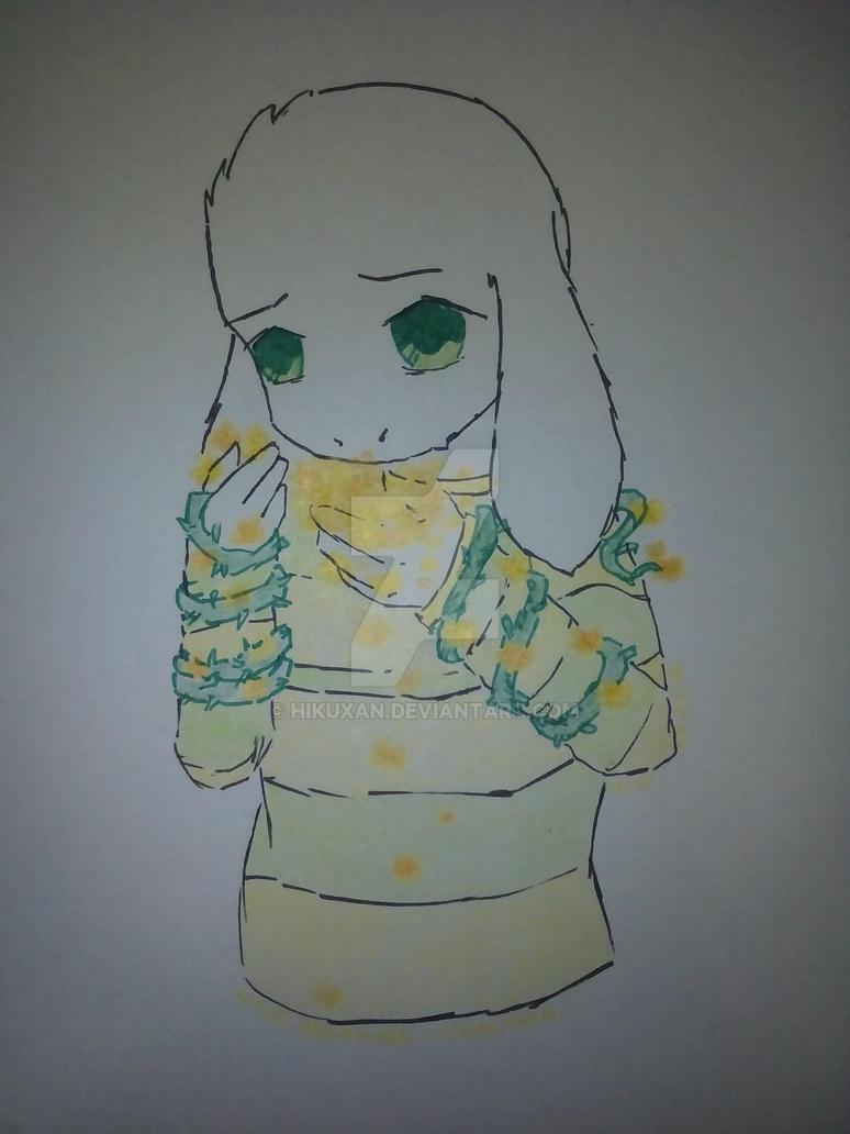 Asriel by hikuxan