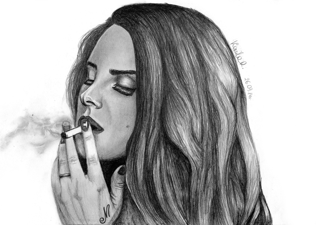 Lana Del Rey 3 by iKammy
