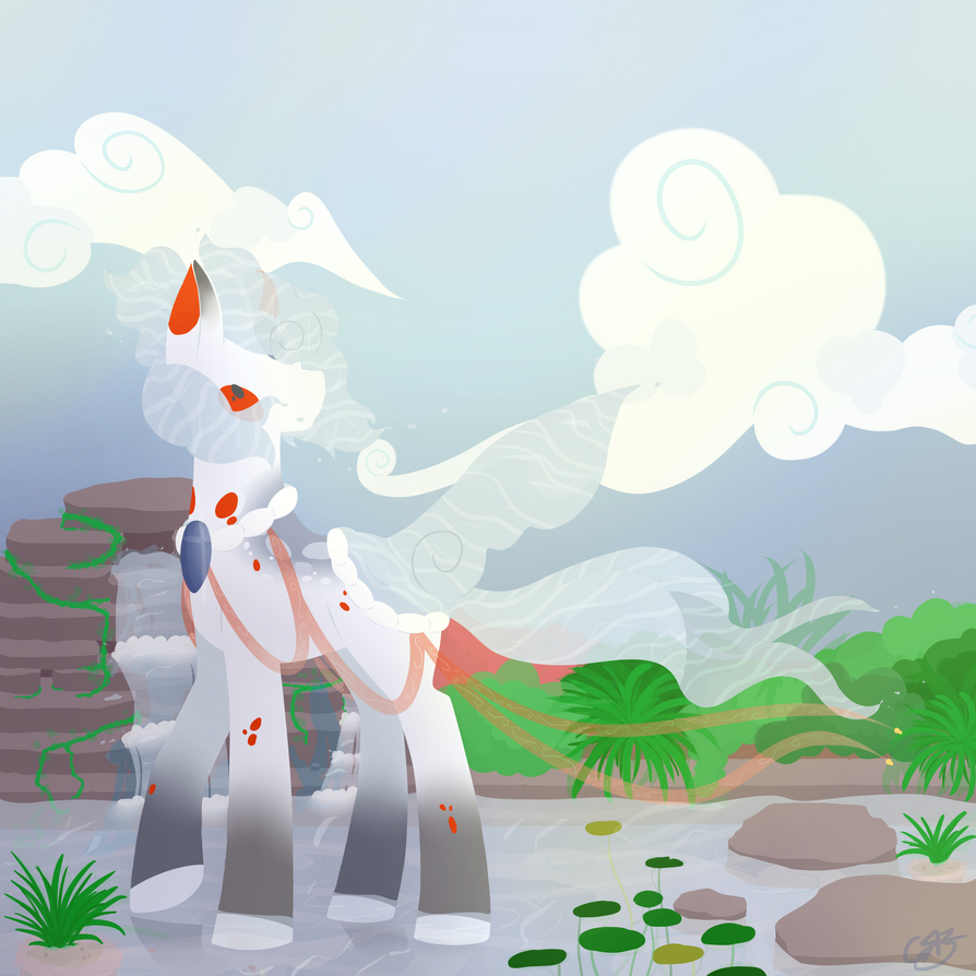 Pond Pony CE#1 by Luminoxie