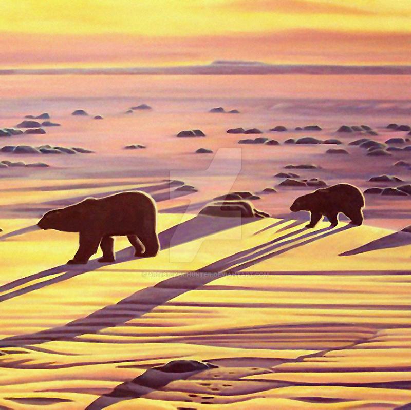 Casting Shadows by Artist-Kim-Hunter