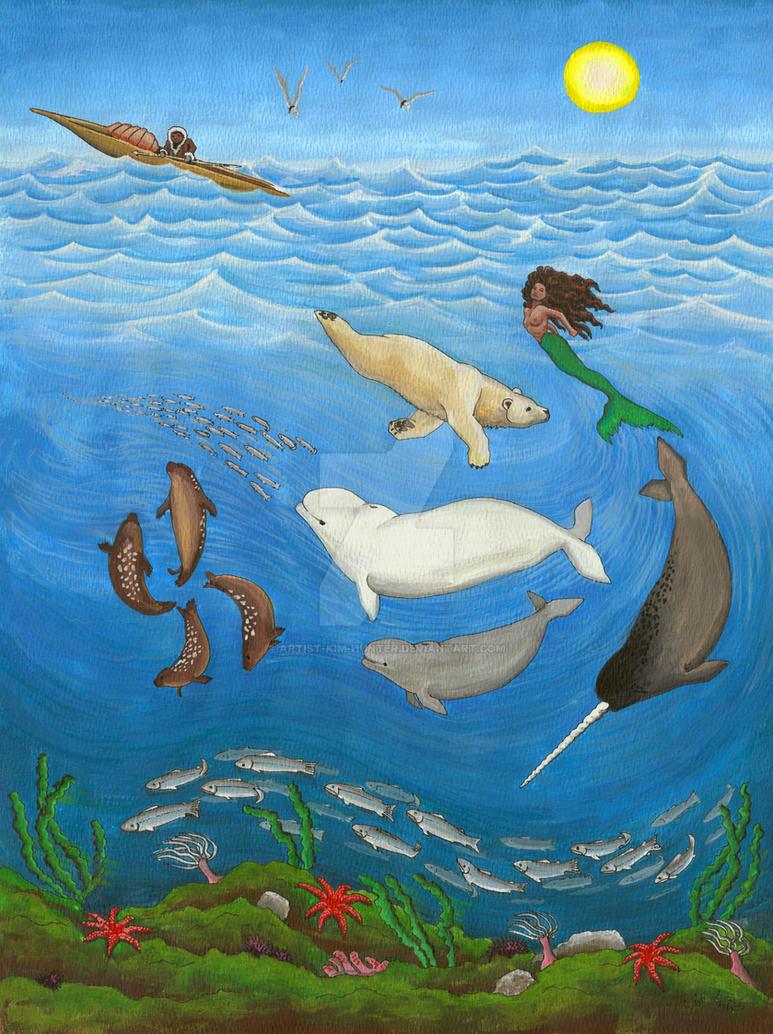 Inuit Myth - Early Works by Kim Hunter by Artist-Kim-Hunter