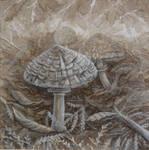 Mushrooms with Mushrooms