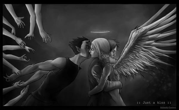 just a kiss II by Samkaat