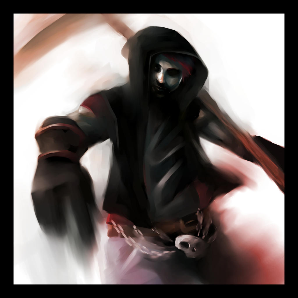 reaper in color by Samkaat