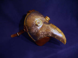 Steampunk Plague Doctor Mask by DragonsmithArmoury