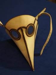 Plague Doctor Mask by DragonsmithArmoury