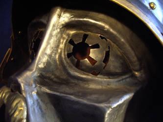Darth Shakespeare Eye Detail by DragonsmithArmoury